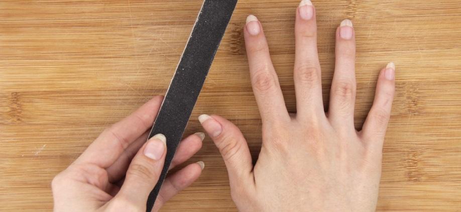 take off fake nails